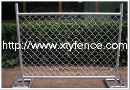 woven temporary fence