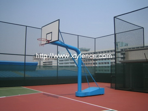 basketball wire mesh fence