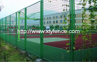 welded sports fence