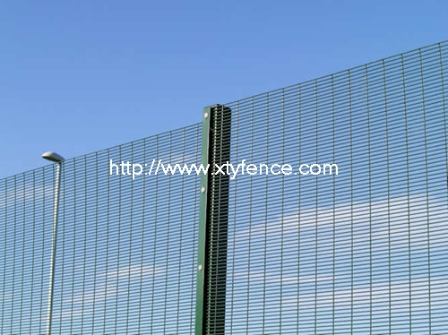 PVC coated 358 wire mesh